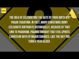 where do birthdays come from