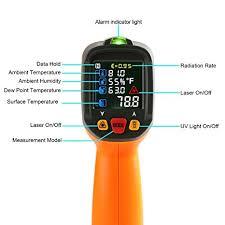 le infrarouge cuisine thermomètre infrarouge temperature laser janisaad6530d cuisine