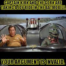 Kirk Meme - kirk and the gorn imgflip