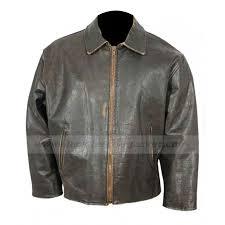 retro motorcycle jacket mens flight distressed jacket vintage brown leather jacket