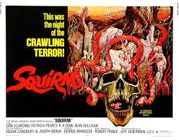 power 106 halloween horror nights horror movie review squirm 1976 games brrraaains u0026 a head