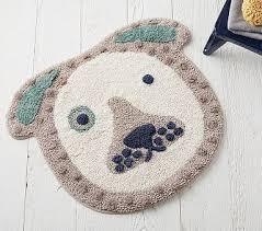 eco chic puppy bath mat pottery barn kids bébe things