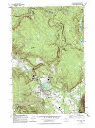 Redmond Washington Map by Snoqualmie Topographic Map Wa Usgs Topo Quad 47121e7