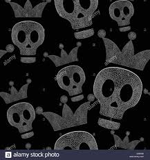 repeating background halloween halloween skeleton pattern black background stock photos