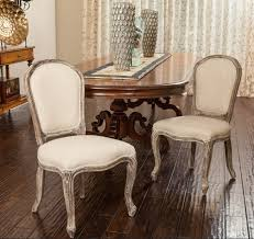 french provincial dining room furniture painted with white