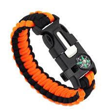 paracord bracelet whistle fire images Emergency paracord bracelet fire starter whistle compass jpg