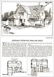English Cottage Design Beautiful Little Tudor Revival From The Late 1920s House