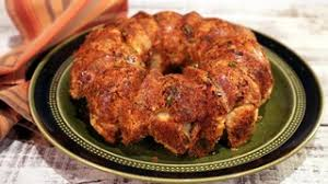 cheesy herb biscuit monkey bread recipe the chew abc
