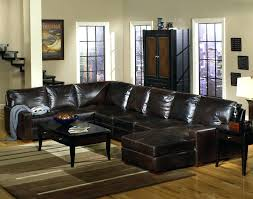 Leather Sectional Sleeper Sofa With Chaise Leather Sofa Chaise Sectional Theamphletts Com