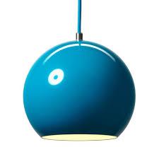 Turquoise Pendant Light Andtradition Panton Topan Vp6 Pendant By Verner Panton Danish