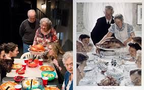 broadway s humans channel norman rockwell for thanksgiving ny