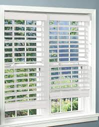 faux wood blinds the finishing touch blinds ideas