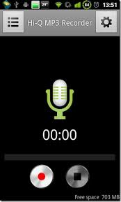 record audio in mp3 format with hi q mp3 recorder for android