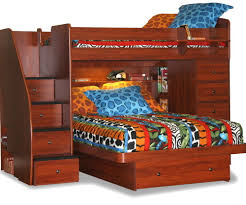 twin loft bed with stairs bibop 2 twin over twin bunk bed with