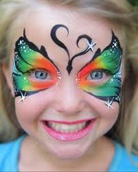 butterfly by mimicks face painting maquillage pinterest