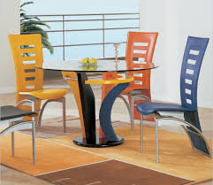 Casual Dining Room Table Sets Simple Casual Dining Table Glass Wall Modern Italian Furniture