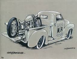 vintage cars drawings nyc motorcyclist serving the new york city motorcycling community