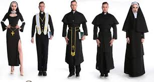 high priest costume high quality party clothing masquerade drama clergyman