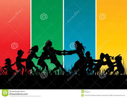 family gathering stock vector image of 6924079