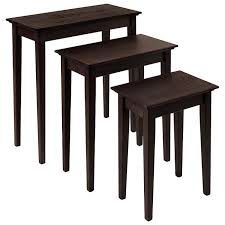 Shaker End Table Narrow Nesting End Tables Shaker Style Furniture