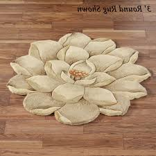 Round Flower Rugs Home Design Top Round Foyer Rugss