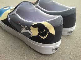 custom painted shoes nightmare before