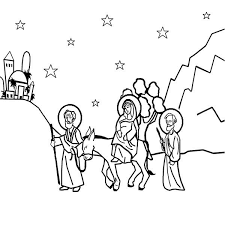 night jesus nativity advent coloring pages batch coloring