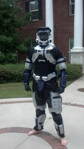 Halo Reach Halloween Costume Finished Halo Reach Armor Threw Fast Picture