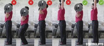 5x5 Bench Press Workout How To Overhead Press With Proper Form The Definitive Guide
