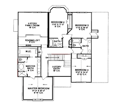 4 bedroom floor plans 2 story 1100 sq ft house plans 2 story home deco plans