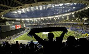 olympic stadium is sold out for tonight u0027s tfc impact soccer match