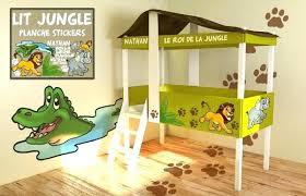 chambre enfant cabane lit petit enfant lit original pour enfant lit cabane dans le