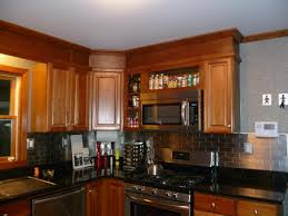 Copper Tiles For Kitchen Backsplash Kitchen Fascinating L Shape Kitchen Decoration Using Bell Shape
