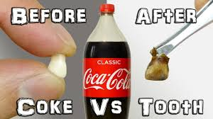 what does it do coke vs teeth experiment youtube