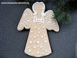 Christmas Cake Angel Decorations by 22 Best Christmas Angel Cookies Images On Pinterest Angel