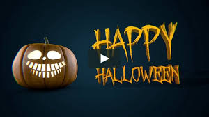 techno halloween background halloween pumpkin bumper opener on vimeo