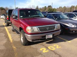 curbside classic 1997 mercury mountaineer u2013 exploring higher