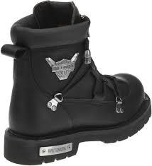 steel toe motorcycle boots harley davidson men u0027s brake light black 6 25 inch motorcycle