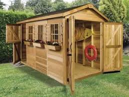 Small Wood Shed Plans by Cedarshed Boathouse 12x8 Shed Small Boats Boat House And
