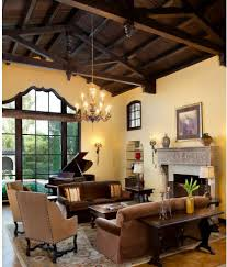 Spanish Revival Restoration Mediterranean Living Room San - Spanish living room design