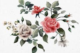 vintage wallpaper murals wallpaper vintage red white roses flower square 1 wall