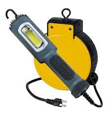 retractable reel led work lights kamrock lights led lights