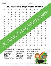st patricks day writing paper st patrick s day handwriting paper free printable st patrick s day word search