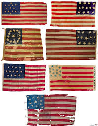 American Flag 1845 Zfc 01 First Flag Act 1777 13 Stars Revolution U0026 Early