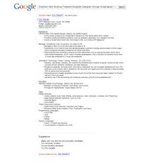 Job Resume Summary Examples by Resume Google Resume Example