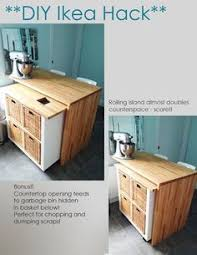 ikea hacks kitchen island diy ikea hack kitchen island tutorial this would be awesome