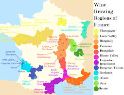 Nantes France Map by Wine Map Of France Recana Masana