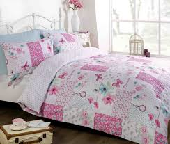 girls quilt bedding dream patchwork duvet cover quilt bedding set pink king size
