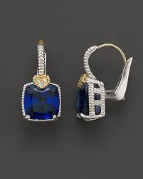 judith ripka earrings judith ripka blue corundum earrings sale jewelry accessories