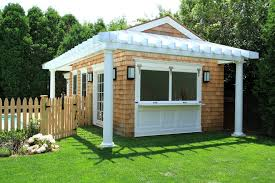 Backyard Shed Bar Shed Bar Ideas Patio Traditional With Liberty Hill Construction